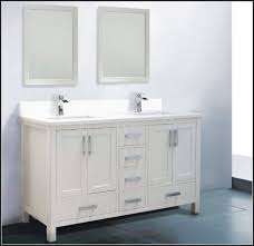 60 inch white double sink vanity top sinks and faucets home