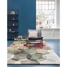 esprit teppich modernina rechteckig 13 mm höhe kurzflor in moderem design wohnzimmer