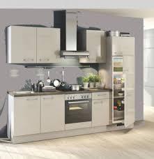 einbauküche mankascala 3 kaschmir glanz küchenzeile 270 cm mit e geräte