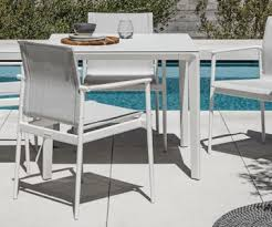 Gloster Outdoor Furniture Australia by Dining Tables Flower Garden