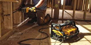 Electric Pumpkin Carving Tools Uk by Dewalt U0027s New Portable Power Station Gives Corded Tools Some Room