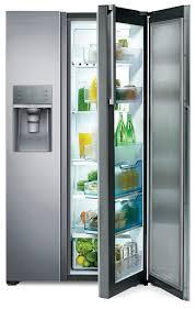 Samsung Counter Depth Refrigerator by Samsung 21 5 Cu Ft Side By Side Food Showcase Refrigerator