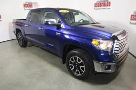 Pre-Owned 2014 Toyota Tundra 2WD Truck LTD Crew Cab Pickup In ... New 2018 Toyota Tundra Sr5 Double Cab 65 Bed 57l Truck Motor Pinata Custom Party Pinatas Pinatascom Towing With A 2016 Trd Pro In Cadillac Mi Fox Of Preowned 2012 4wd Grade Nampa 970553b Akron Oh 20440723 2011 Limited An Iawi Drivers Log 2015 Review Rating Pcmagcom 2017 1794 Edition Crewmax Tallahassee 2wd Grade Crew Pickup For Sale Amarillo Tx 2013 Reviews And Trend