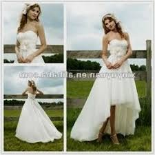High Low Country Wedding Dress