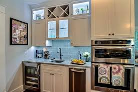 kitchen with high ceiling complex granite counters in
