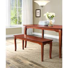 Dining Table Set Walmart by Better Homes And Gardens Ashwood Road Dining Bench Brown Cherry
