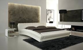 King Platform Bed With Headboard by Laguna Queen Platform Bed With Headboard Lacquered Espresso