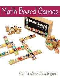 Childrens Educational Board Games Math Game Ideas Great That Help