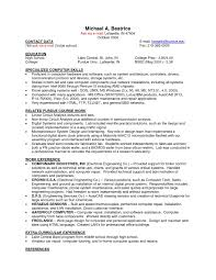 Part Time Job Resume Examples Of Resumes For Jobs With No Experience