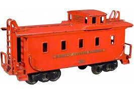 caboose l buddy l pressed steel caboose