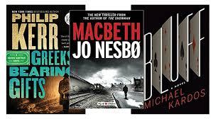 Crime Fiction Reviews Latest From Philip Kerr Jo Nesbo And Michael Kardos