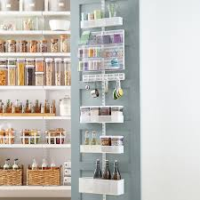 Stand Alone Pantry Cabinets Canada by Kitchen Shelves U0026 Pantry Shelving The Container Store