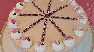 nougat torte mit frischkäse