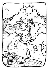 Coloriage Vache Corse à Imprimer Pour Les Enfants Dessin