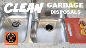 Garbage Disposal Backing Up Into Both Sinks by How To Clean A Garbage Disposal 4 Easy Tips Home Repair Tutor