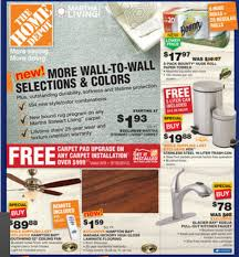Home Depot Carpet Replacement by Home Depot Ad Deals For 8 30 9 5