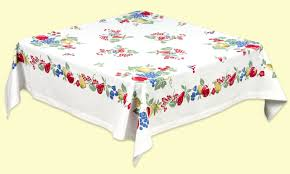 Rectangle Patio Tablecloth With Umbrella Hole by Oilcloth Tablecloths And Cotton Too U2022 Cottage Home Decor