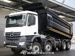 100 Mercedes 6 Wheel Truck Arocs 4145 K Euro Norm 9800 BAS S