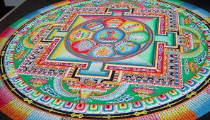 Lama Tenzin Deshek Director Of The Losel Maitri Buddhist Center In Birmingham Will Spend Two Weeks Creating A Sand Mandala BMA Lobby