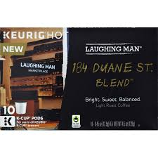 Keurig Green Mountain Laughing Man 184 Duane St Blend Light Roast Coffee K Cup 45 Oz From Fred Meyer