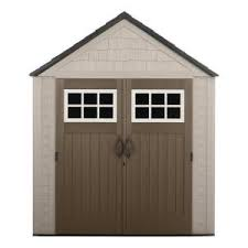 Suncast Shed Bms7400 Accessories by Suncast Sutton 7 Ft 3 In X 7 Ft 4 5 In Resin Storage Shed