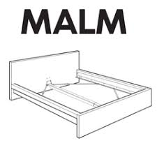 Malm Bed Assembly by Ikea Bed Frame Parts U2013 Furnitureparts Com