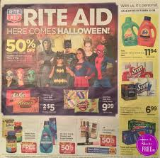 Healthy Halloween Candy Oral B by Rite Aid Weekly Ad 10 22 17 10 28 17