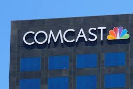 FILE PHOTO The Comcast NBC Logo Is Shown On