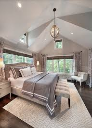 High Ceiling Bedroom Decorating Ideas Photo