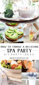 How To Throw A Relaxing Spa Party