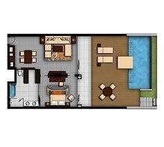 Elara One Bedroom Suite by Seaview One Bedroom Suite