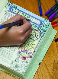 Inspire Bible NLT The For Creative Journaling Tyndale Christian Art 9781496413741 Books