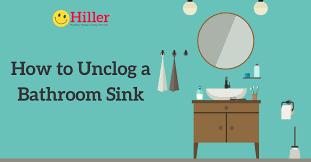 Unclogging A Bathtub Drain Video by How To Unclog Bathroom Sink Drain