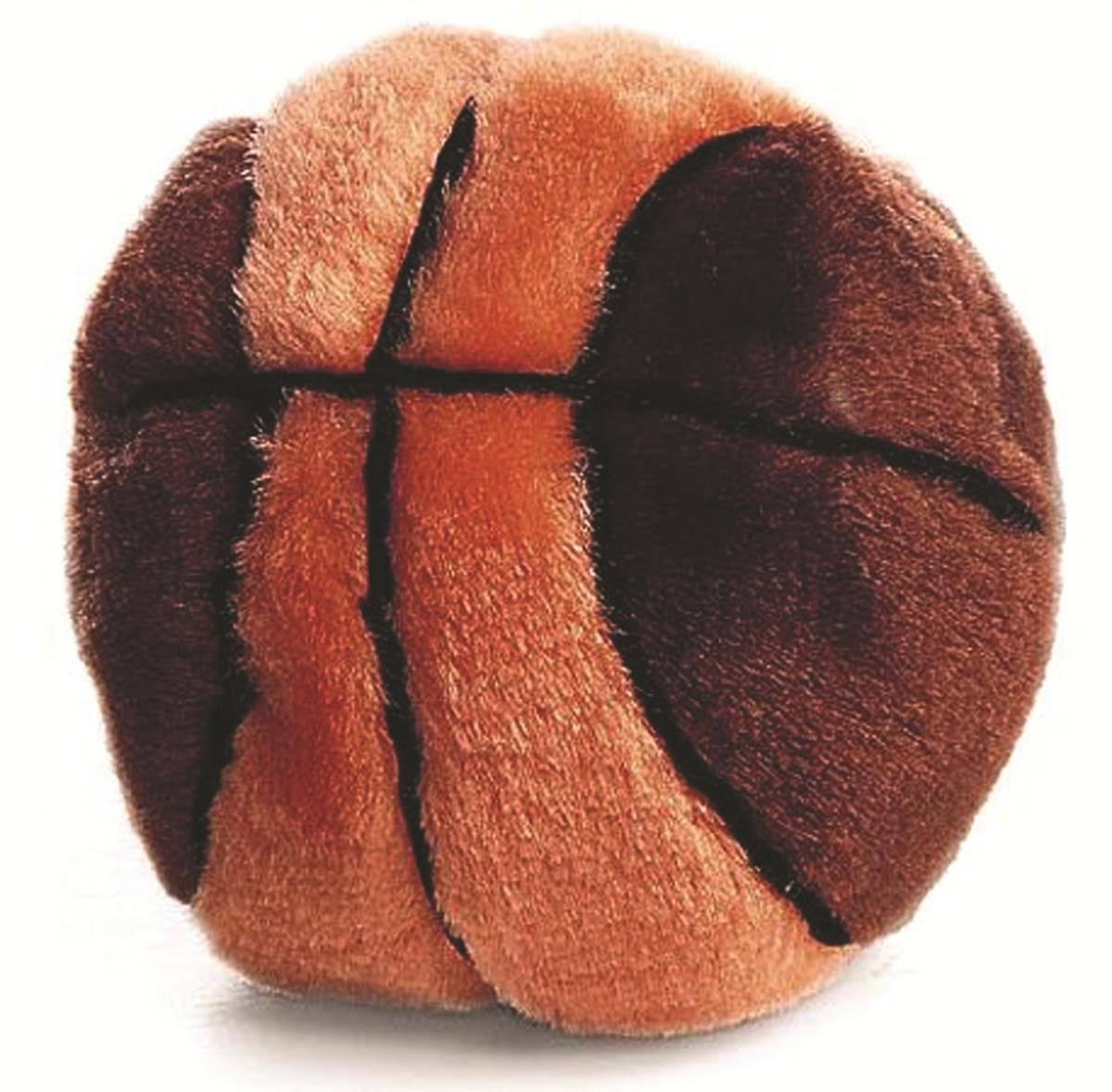 Ethical Plush Basketball Dog Toy - 4 1/2""