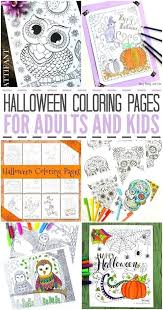 Celebrate Halloween Early With These Fun Coloring Pages For Kids And