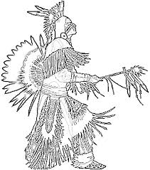 Native American Coloring Pages 82