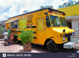 St. Saint Petersburg Florida Taco Bus Authentic Mexican Food Truck ...