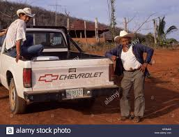 Mexican Men And Pick Up Truck Jalisco State Mexico Stock Photo ...