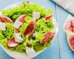 cuisiner figues fraiches recette de salade aux figues fraîches et à la féta