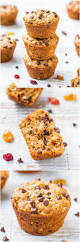 Bisquick Pumpkin Chocolate Chip Muffins by Oatmeal And Chocolate Chip Trail Mix Vegan Muffins Averie Cooks