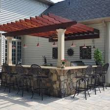 Outside Patio Bar Ideas by Outdoor Patio Bar Ideas Deck And Marvelous Photos Cosmeny