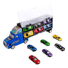100 Hot Wheels Car Carrier Truck Zmoon Transport Rier Toy Transporter With 12 Colourful