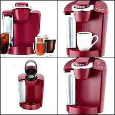 Red Keurig Coffee Makers Maker K Cup