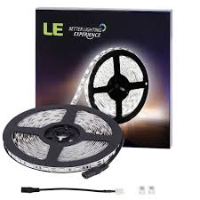 amazon com le 16 4ft 300 smd 5050 leds flexible strip lights