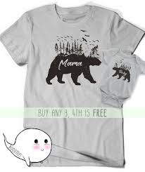 415 Best Pregnancy Kids Images by Mama Bear Baby Matching Shirts Pregnancy Announcement Shirt T