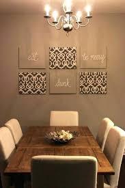 Dining Wall Decor Ideas Kitchen Interior Decoration Impressive Design Room