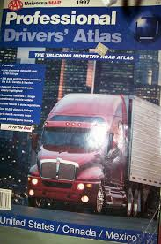Amazon.in: Buy Professional Drivers' Atlas: The Trucking Industry ...