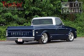 1968 Chevy C10 - Ole Blue - Truckin' Magazine 1968 Chevy C10 Just A Great Color I Just Might Have To Store My Stepside Pickup Truck Youtube Family Affair Photo Image Gallery Chevrolet Work Smart And Let The Aftermarket Simplify Revealed At Sema Strange Motions Awesome Hot Rod Nice Amazing C10 2017 2018 Old The Custom Utility That Nobodys Seen Network 1970 Page Cst Shortbed Fleetside Interview With Classic Trucks Magazine Matt Kenner Total Cost Involved