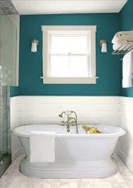 Gray And Teal Bathroom by The Color Teal With The Wood And The Stone Grey Floor Bathroom