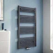 badheizkörper anthrazit handtuchwärmer badezimmer heizung heizkörper mit ventil ebay